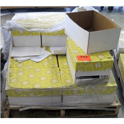 Qty 1 Incomplete Pallet Neenah Exact Vellum 82361 Cases Reams Paper