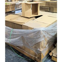 Qty 1 Pallet Hagadone 39071 Corrugated Shipping Boxes 450 Count