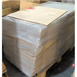 Qty 1 Pallet Pacific Container Company Misc Corrugated Boxes