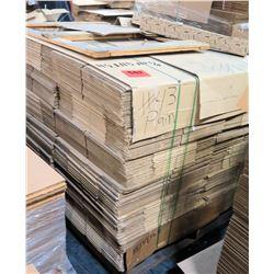 Qty 1 Pallet 11.5 x 11.5 x 10.75 Misc Corrugated Boxes