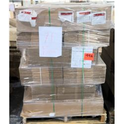 Qty 1 Pallet Smurfit Kappa Pacific Rim Packaging 39071 Corrugated Boxes