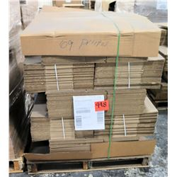 Qty 1 Pallet Xpedx 6331895 Misc Corrugated Shipping Boxes