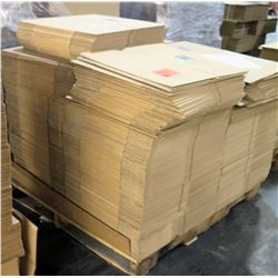 Qty 1 Pallet Hagadone 39075 Corrugated Shipping Boxes