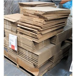 Qty 1 Pallet Uline 11.75 x 8.75 x 6.25 Corrugated Shipping Boxes