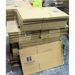 Qty 1 Pallet Hagadone 16 x 11 x 7 Corrugated Shipping Boxes Printed