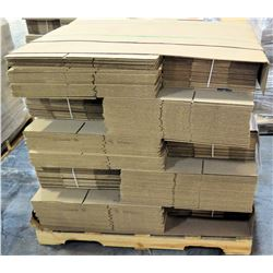 Qty 1 Pallet Hagadone 16 x 11 x 7 Corrugated Shipping Boxes