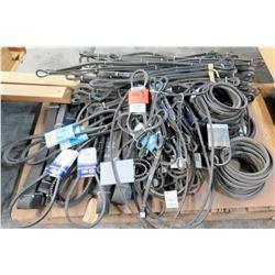 Qty 1 Pallet Misc Fan Belts, Drive Belts, etc