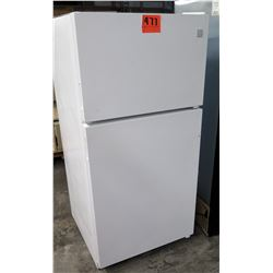 Kenmore Full Size White Refrigerator Freezer Upright Unit Fridge