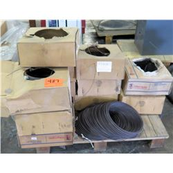 Qty 1 Pallet Misc Boxes 12 GA Baling Wire, Olympic Baler Wire, Etc