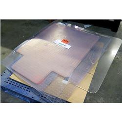 Qty 1 Pallet Misc Under Desk Protector Mats Misc