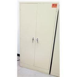 Tall 5 Tier Storage Cabinet w/ 2 Front Doors