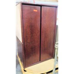 Tall Wooden 2 Door Cabinet