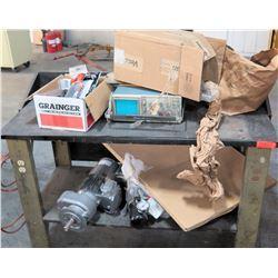 Misc Tools & Parts - Electric Motor, Tektronix 2235 Oscilloscope, etc