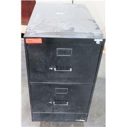 Short Vertical 2 Drawer File Cabinet
