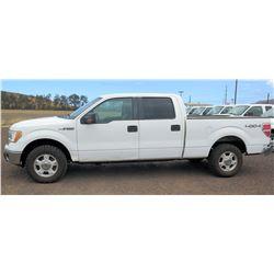 2010 Ford F150 Pickup Truck, Super Crew 4WD, Lic. 848KBN, VIN 1FTFW1EV0AKB71839