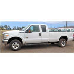 2012 Ford F350SD Truck, Turbo Diesel 6.7L Power Stroke, 4X4. Lic. 470KBP, VIN:1FT8X3BT4CEC22832