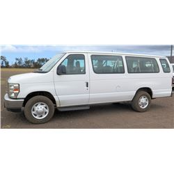 2009 Ford E350 Van, Lic. PYX986, VIN 1FBSS31L79DA63586