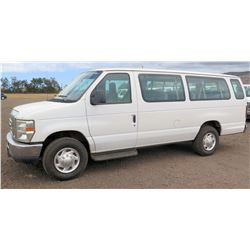 2011 Ford Econoline Van E350SD EXT XLT, Lic. 102KBP, VIN 1FBSS3BL7BDA94888