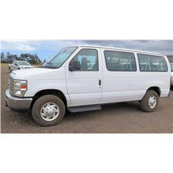 2012 Ford Econoline Van, E350 SD XLT, Lic. 473KBP, VIN 1FBNE3BL3CDB10574