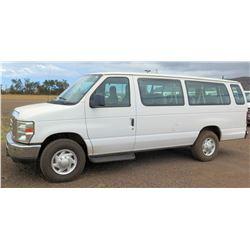 2009 Ford E350 Van, Lic. PYD362, VIN 1FBSS31L39DA63584