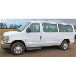2012 Ford E350SD Econoline Van XLT, Lic. 469KBP, VIN 1FBNE3BL1CDB10573