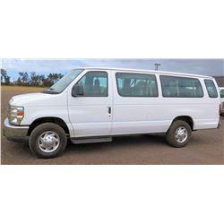 2010 Ford E350SD Van, Extended XLT, Lic. 833KBN, VIN 1FBSS3BL9ADA44993