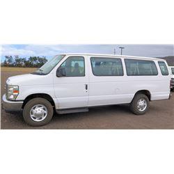 2011 Ford E350SD Econoline Van, EXT XLT, Lic. 103KBP, VIN 1FBSS3BL9BDA94889