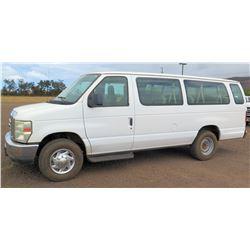 2010 Ford E350SD Van, Extended XLT, Lic. 834KBN, VIN 1FBSS3BL7ADA44992