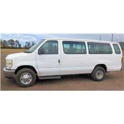 2010 Ford E350SD Van, Extended XLT, Lic. 844KBN, VIN 1FBSS3BL5ADA44991