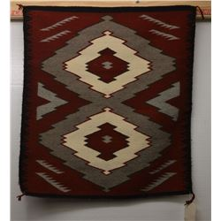 NAVAJO INDIAN TEXTILE (HARRIET MORGAN)