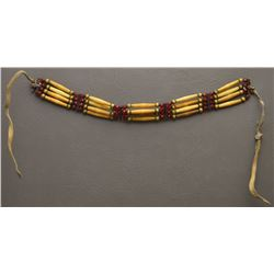 PLAINS INDIAN HAIR PIPE CHOKER