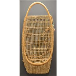 POMO INDIAN BASKETRY CRADLE