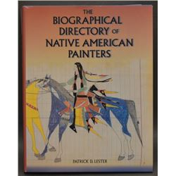 BOOK ON NATIVE AMERICAN PAINTERS (PATRICK D LESTER)
