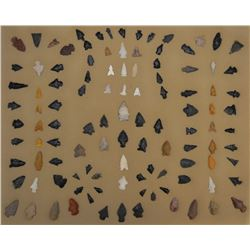 COLLECTION OF ANASAZI INDIAN ARROW HEADS