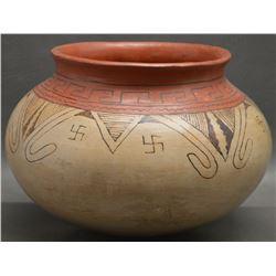 MARICOPA INDIAN POTTERY JAR (SUZIE BILL)