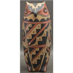 JEMEZ INDIAN POTTERY OWL