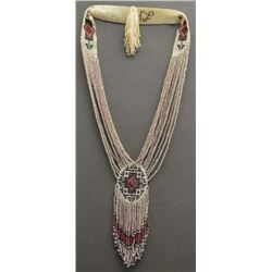 LOOMED BEADED NECKLACE ( LEE HUTCHINGS )