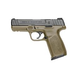 "S& W SD9 9MM 16RD 4"" FDE FS 2MAGS"