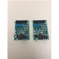 (2) Fanuc A20B-2002-0520 PC Boards