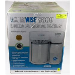 WATERWISE 8800 DELUXE COUNTERTOP DISTILLER