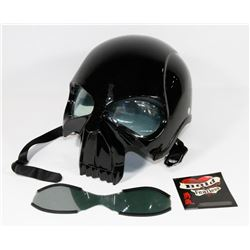 """NEW """"PUNISHER"""" SKULL MOTORCYCLE DOT APPROVED"""
