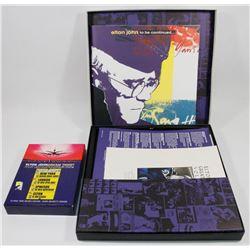 TWO ELTON JOHN CD BOX SETS
