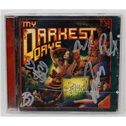 MY DARKEST DAYS SIGNED CD