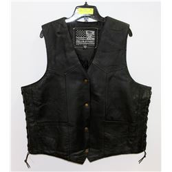 MOTORCYCLE VEST SIZE XXXL, FITS SMALL