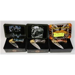 WILDLIFE COLLECTIBLE KNIVES