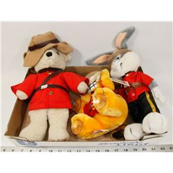VINTAGE RCMP STUFFIE COLLECTION