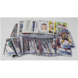 APPROX 100 ASSORTED UPPERDECK HOCKEY CARDS INCLUDE