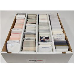 BOX OF APPROX 2500 HOCKEY CARDS