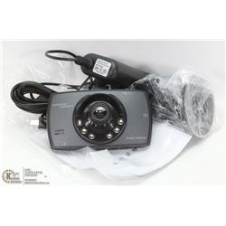 NEW HD DASHCAM WITH MOUNTS AND 12V POWER SUPPLY