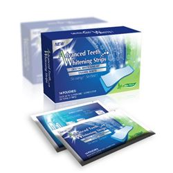 PACK OF ADVANCED TEETH WHITENING STRIPS 14